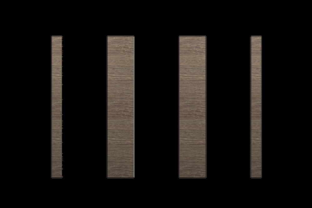Cubicle Pilaster Premium