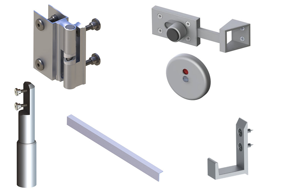 Standard Cubicle Fittings Pack